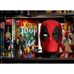 Tête Deadpool interactive -...