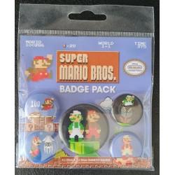 Set de 5 badges - Mario