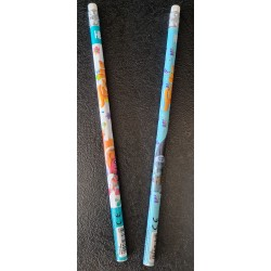 Lot de 2 crayons à papier -...