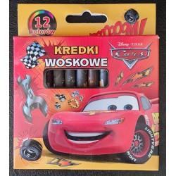 Crayons pastels x12 - Cars