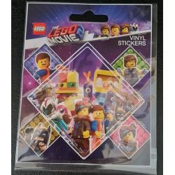Set de 5 Stickers - Lego Movie