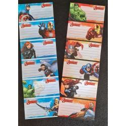 Set de 6 Stickers - Avengers