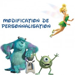 Modifier ma personnalisation