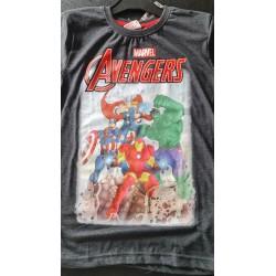 T Shirt - Avengers - Noir