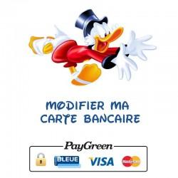 Modifier ma carte bancaire